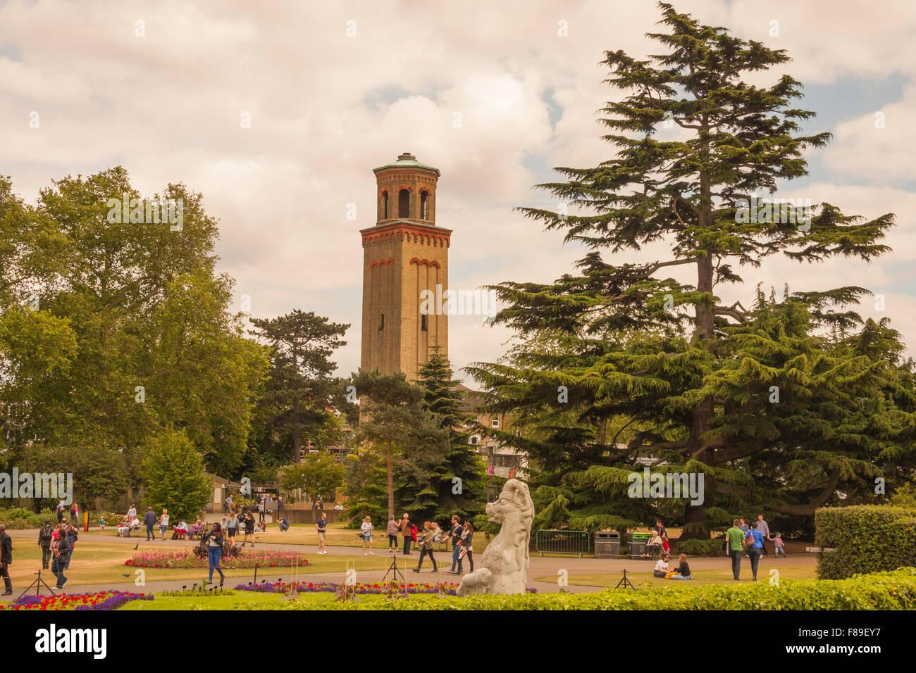 Victorian Tower Gardens Stock Photos & Victorian Tower Gardens Stock ...