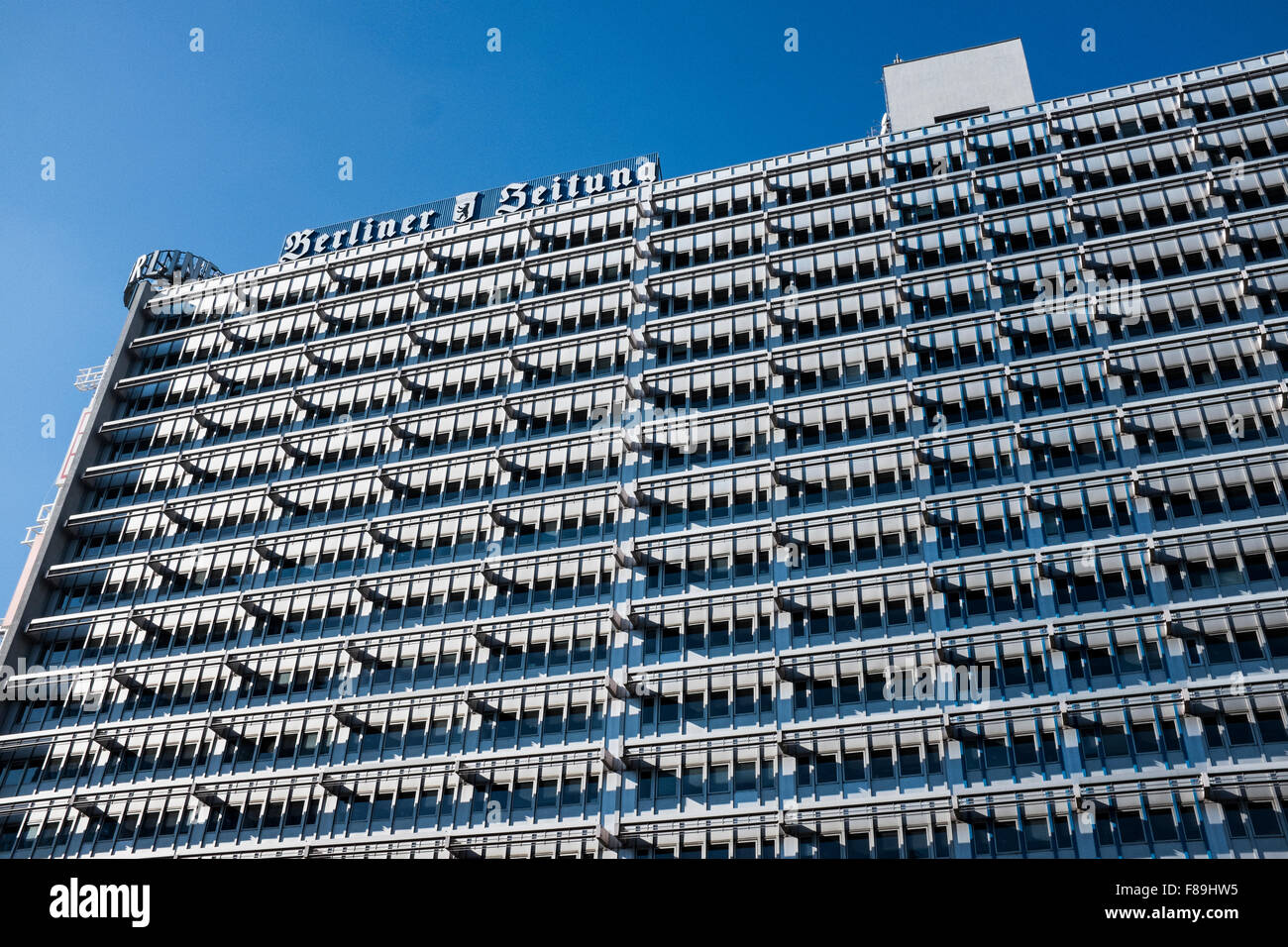 Haus des Berliner Verlags, Berlin, Germany - Stock Image