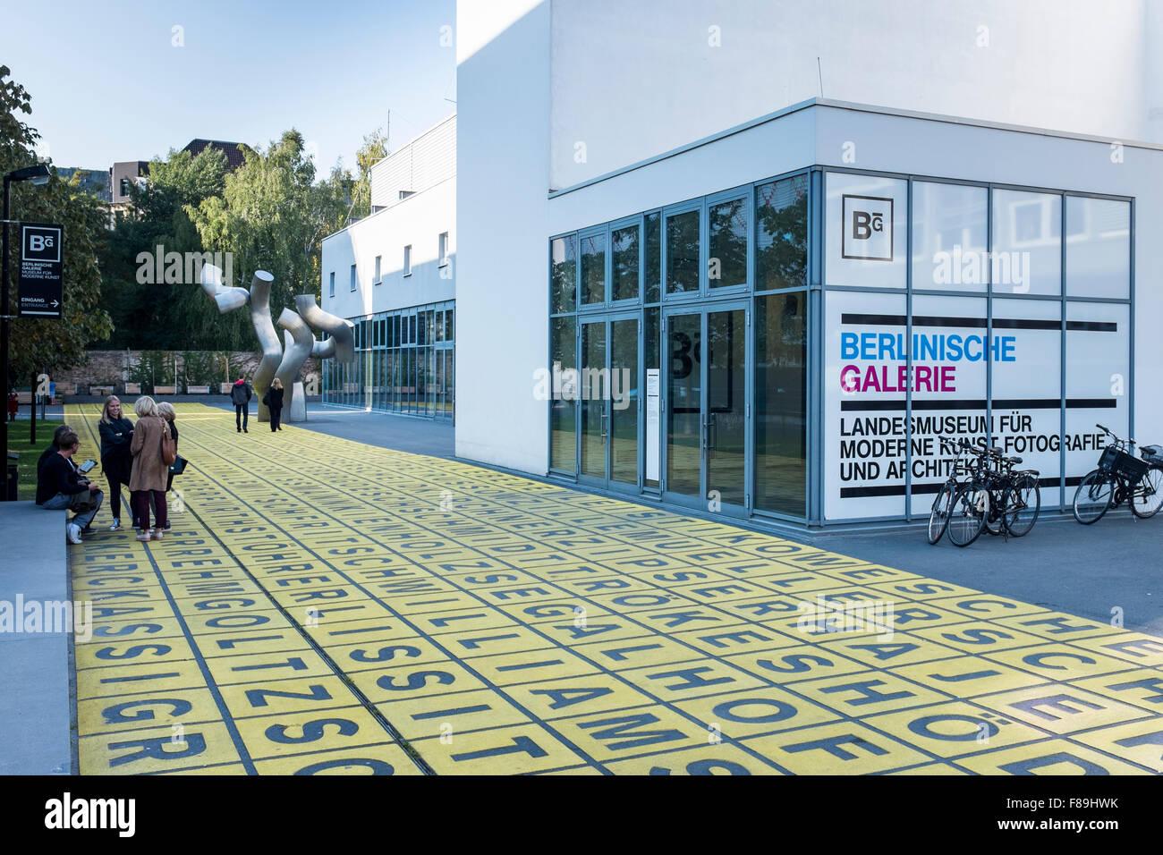 Berlinische Galerie, Berlin, Germany Stock Photo