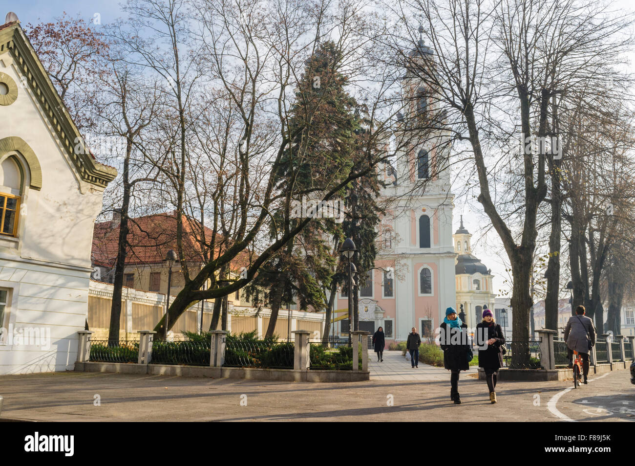 Church of St. Catherine Vilnius, Lithuania, Europe - Stock Image