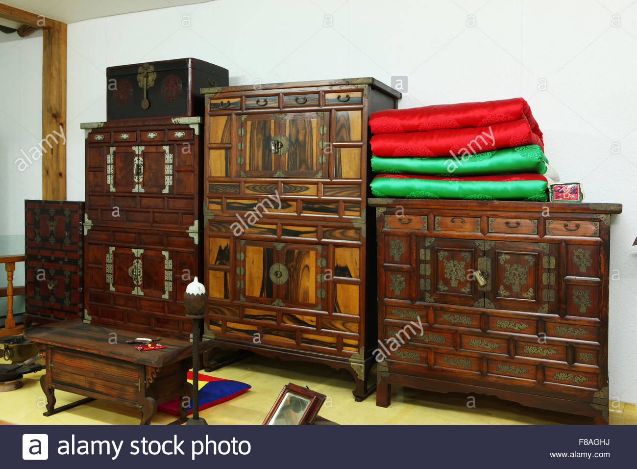 antique furniture - Stock Image