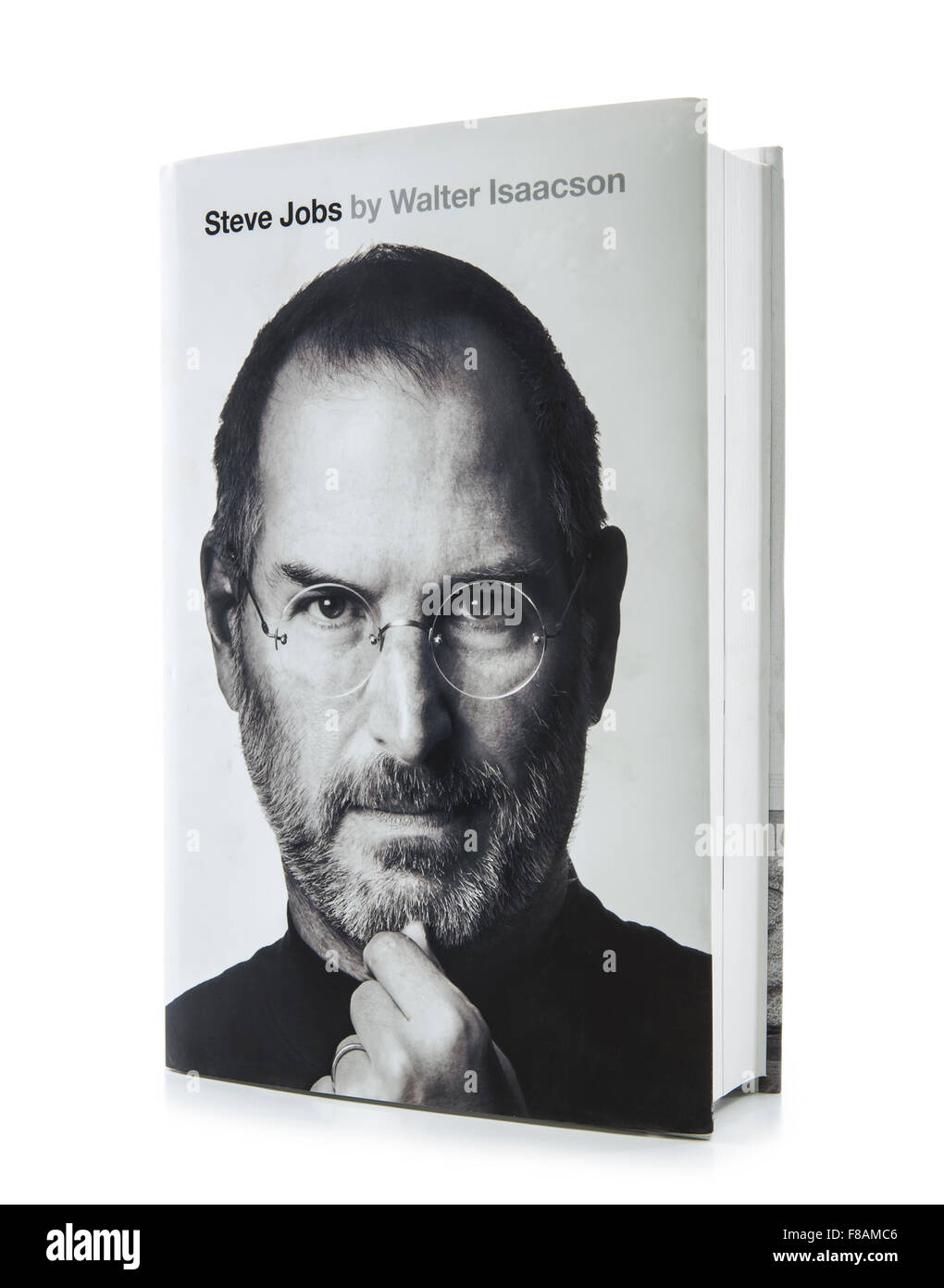 Steve Jobs  Biography by Walter Isaacson - Stock Image