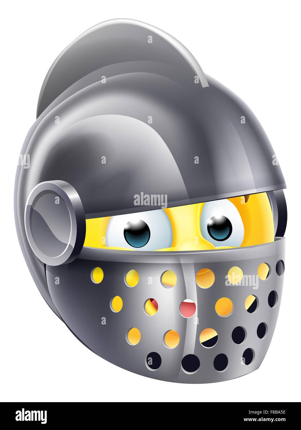 knight cartoon emoji emoticon smiley face character