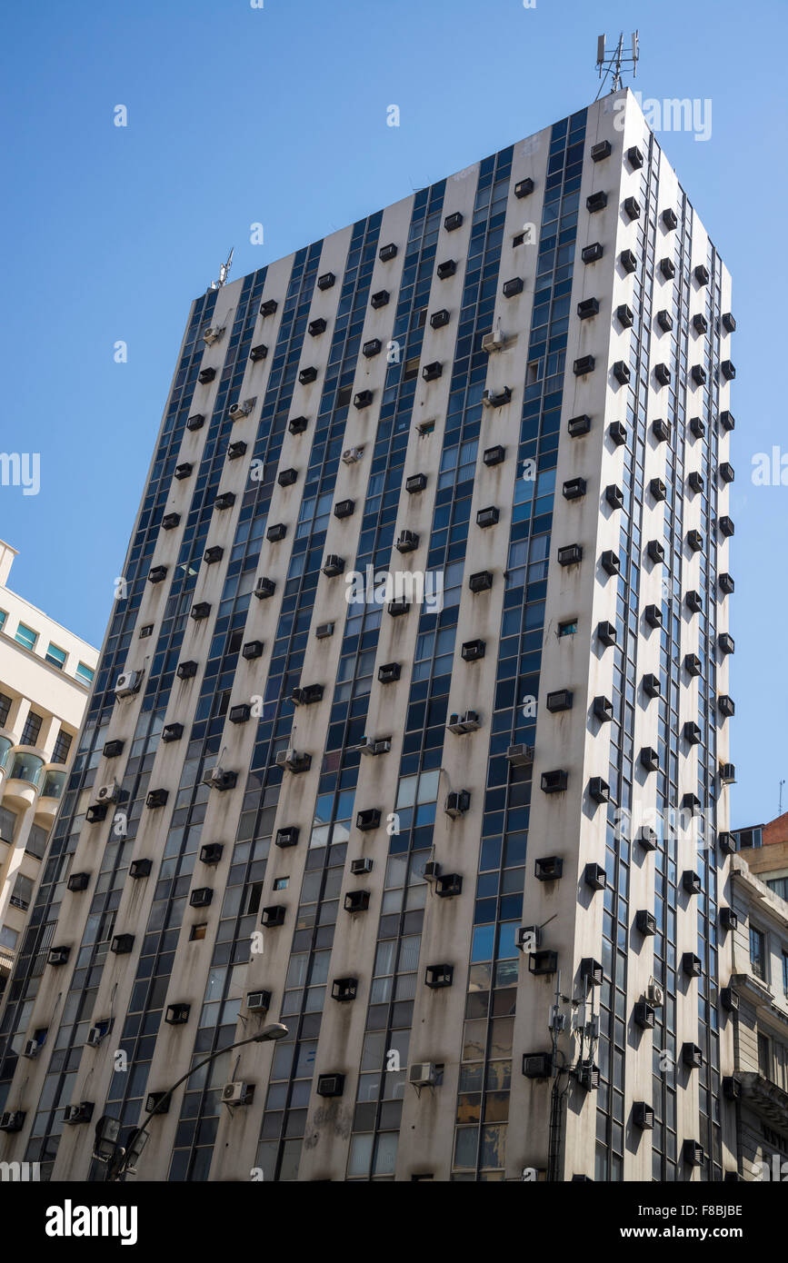 High Rise Building Air Conditioning Units Stock Photos