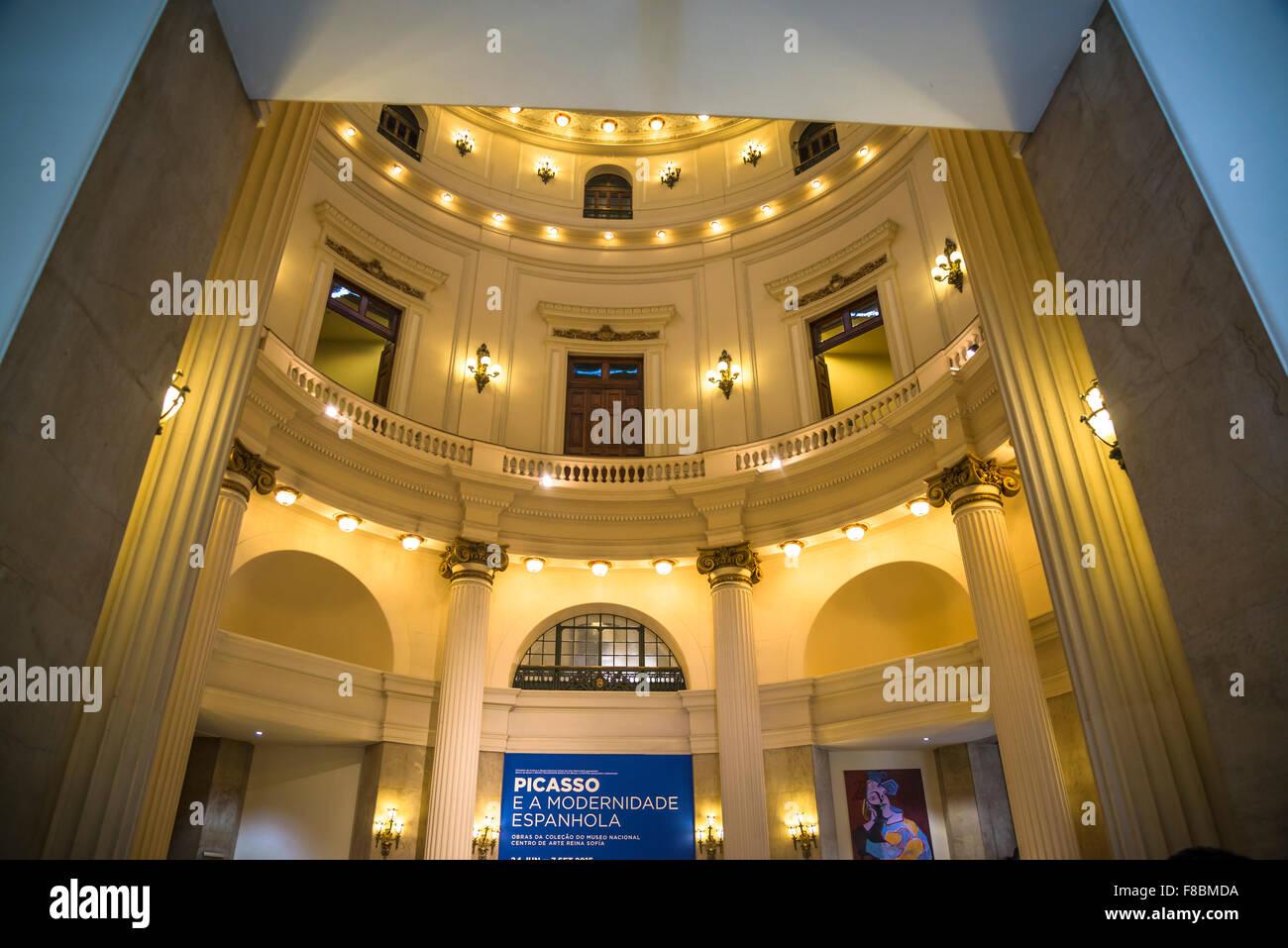 Centro Cultural Banco do Brasil - CCBB, Rio de Janeiro, Brazil - Stock Image