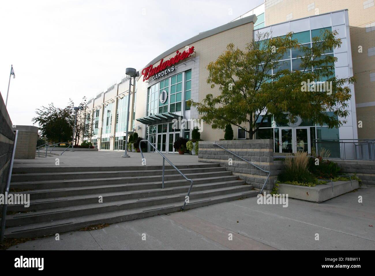 Budweiser Gardens London Ontario Canada Stock Photo Alamy