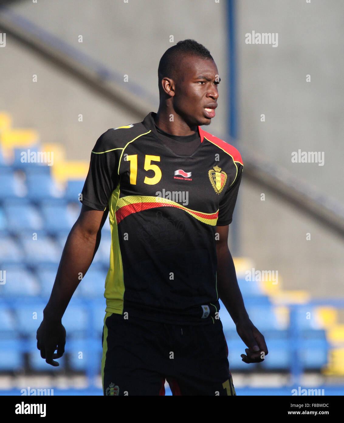 Ibrahima Cissé Wallpaper: Belgian U21 Footballer Stock Photos & Belgian U21