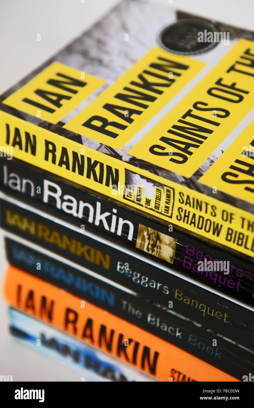 Ian Rankin novels - Stock Image