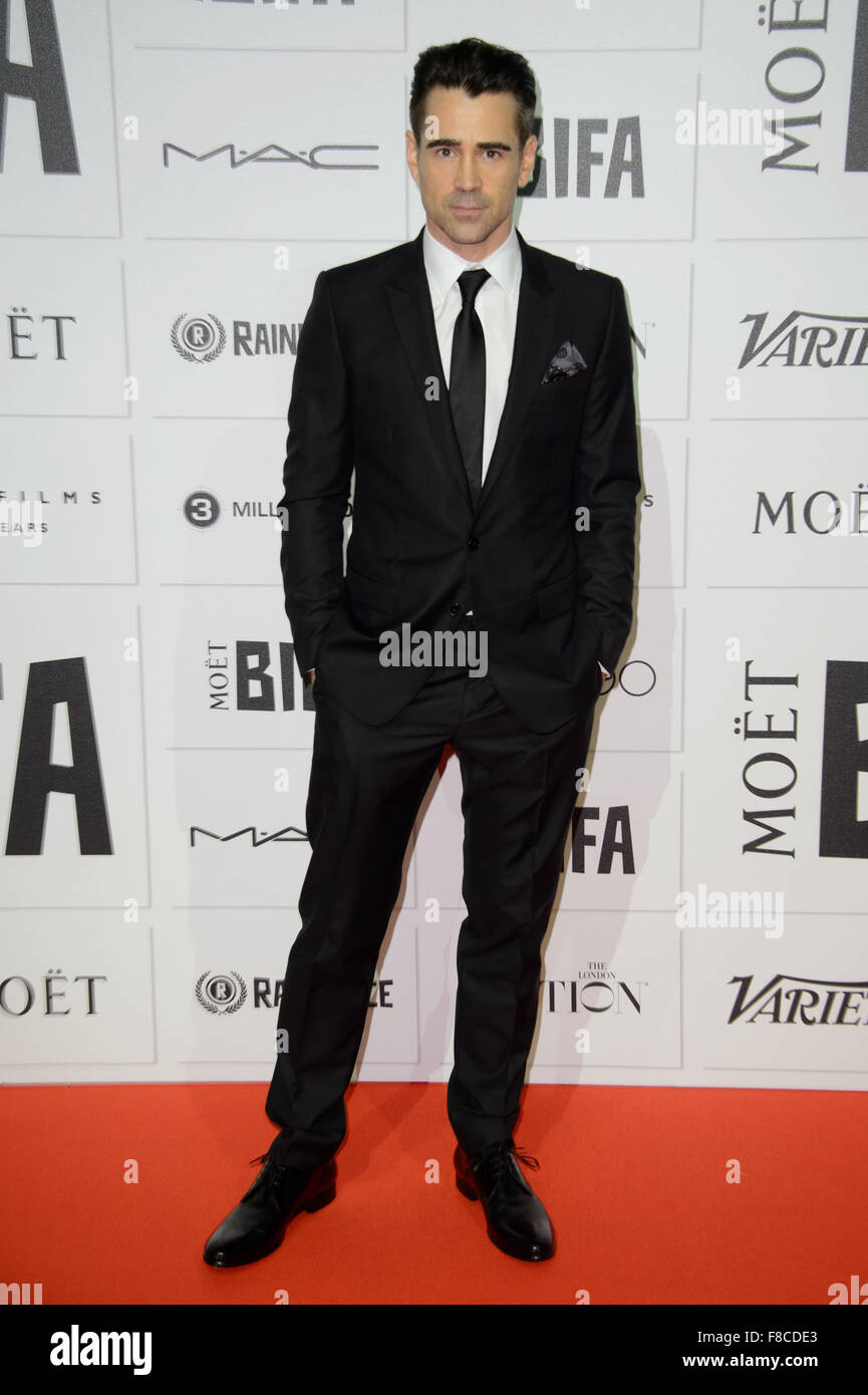 Colin Farrell at the British Independent Film Awards 2015 in London - Stock Image