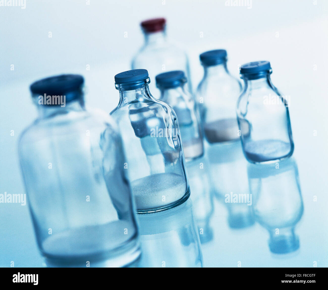 production in pharmaceutical industry Stock Photo