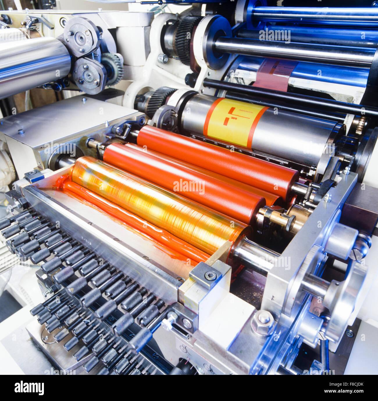 pad printing machine at work Stock Photo: 91247007 - Alamy
