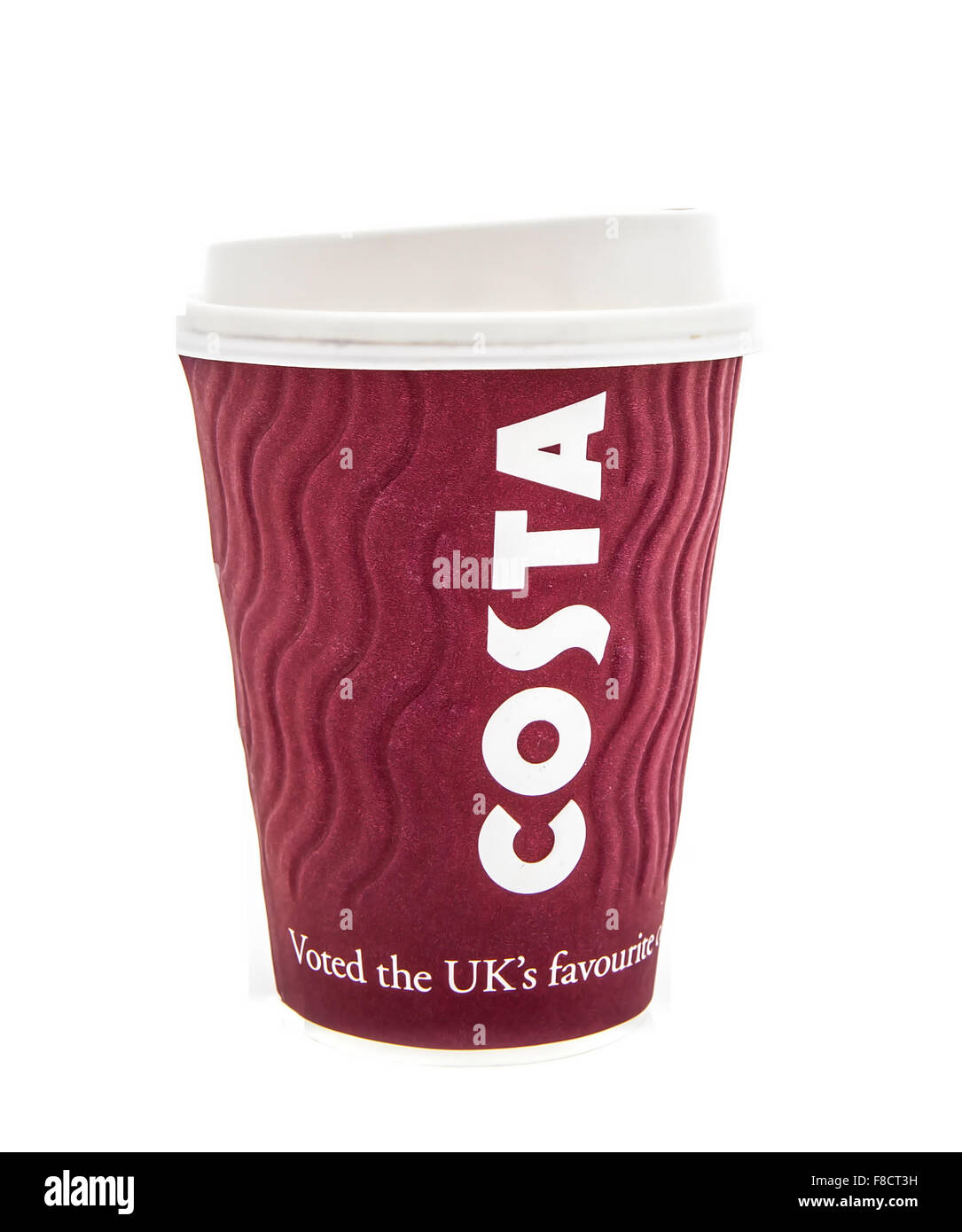 Costa Coffee Logo On A Take A Way Cup Costa Coffee Is A