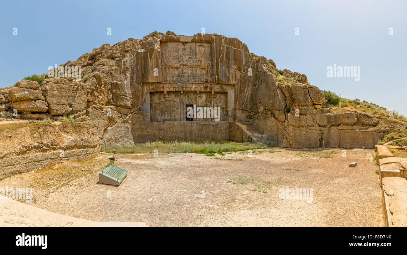 Persepolis royal tombs - Stock Image