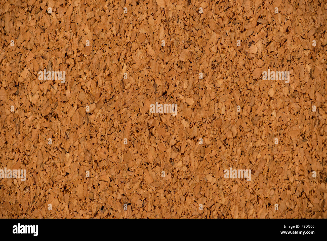 Extreme Close-up of Corkboard Background - Stock Image