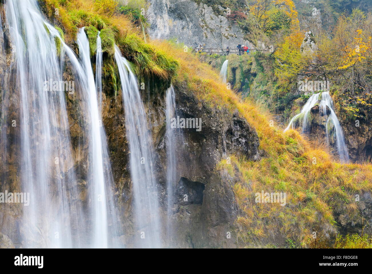 Plitvice Lakes National Park, Croatia, Europe - Stock Image