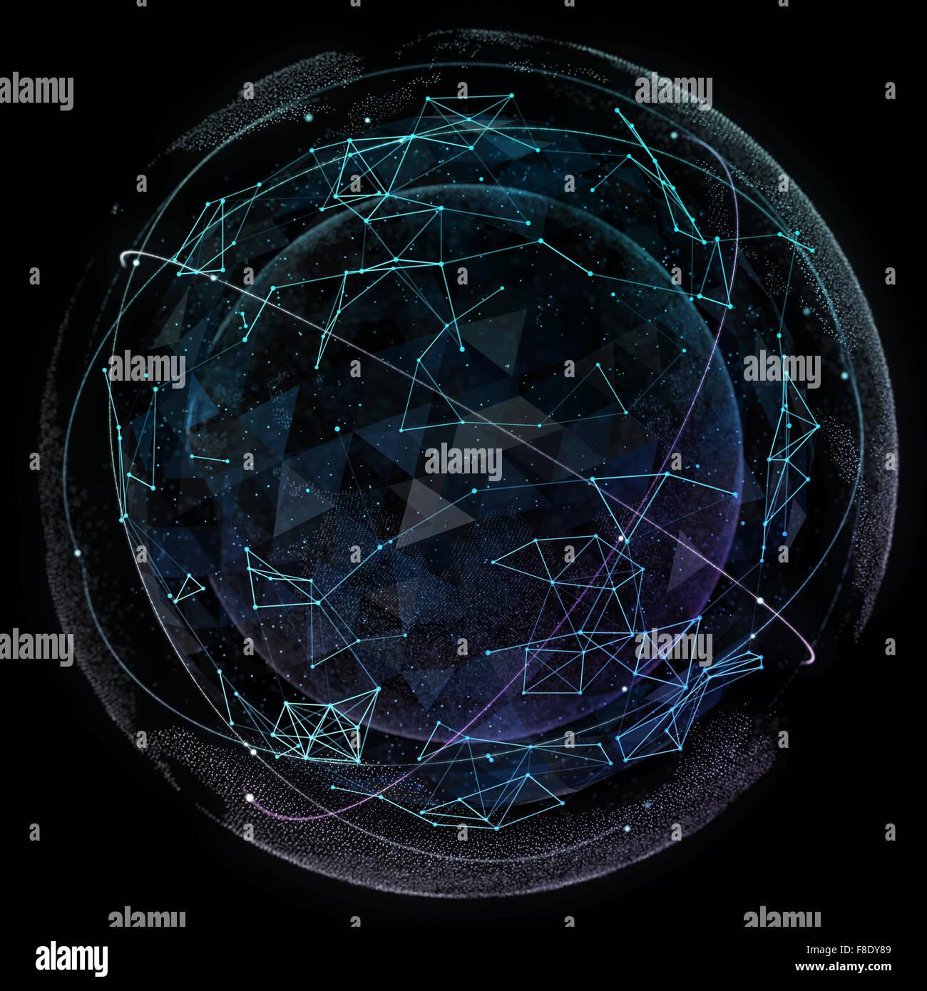 Global network internet technologies digital world map stock photo global network internet technologies digital world map gumiabroncs Images