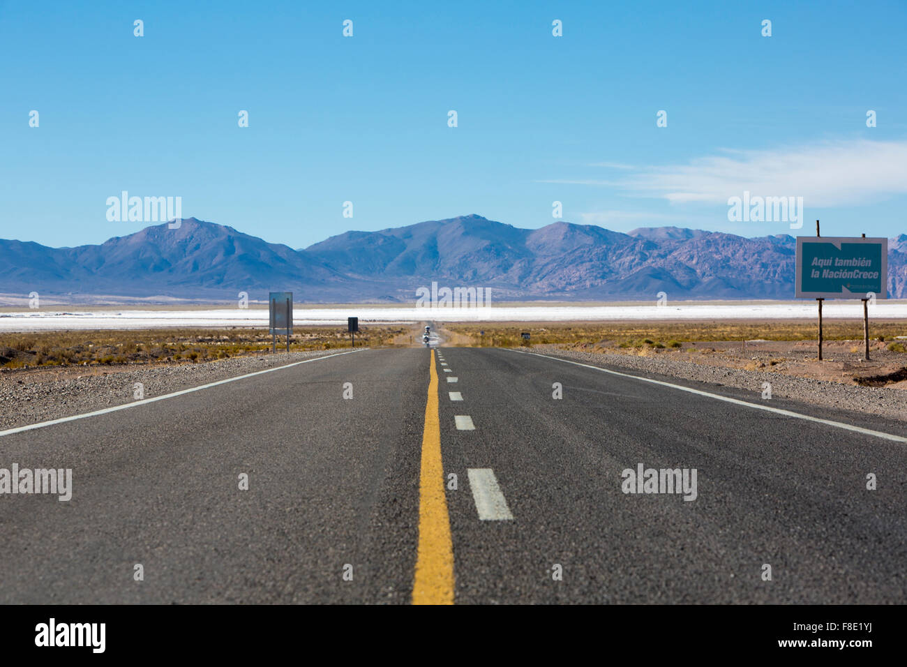 National Route 40 in Northern Argentina - Stock Image