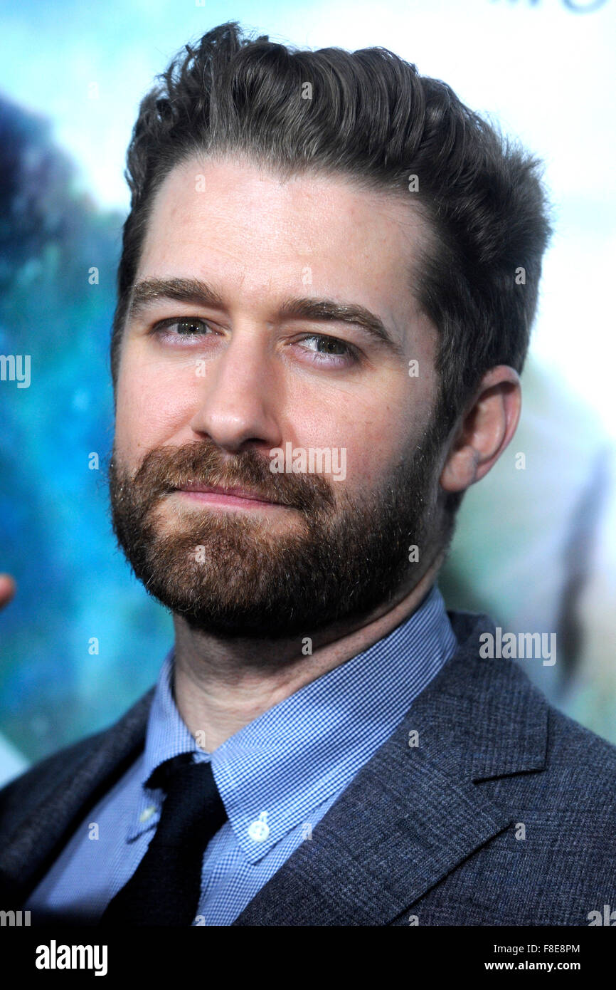 Matthew Morrison At The Premiere Of In The Heart Of The Sea