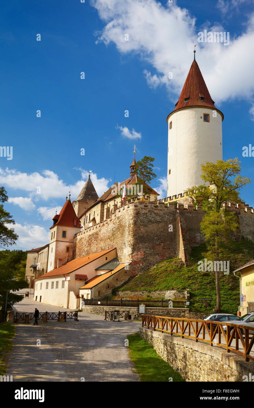 Krivoklat Castle, Czech Republic, Europe - Stock Image