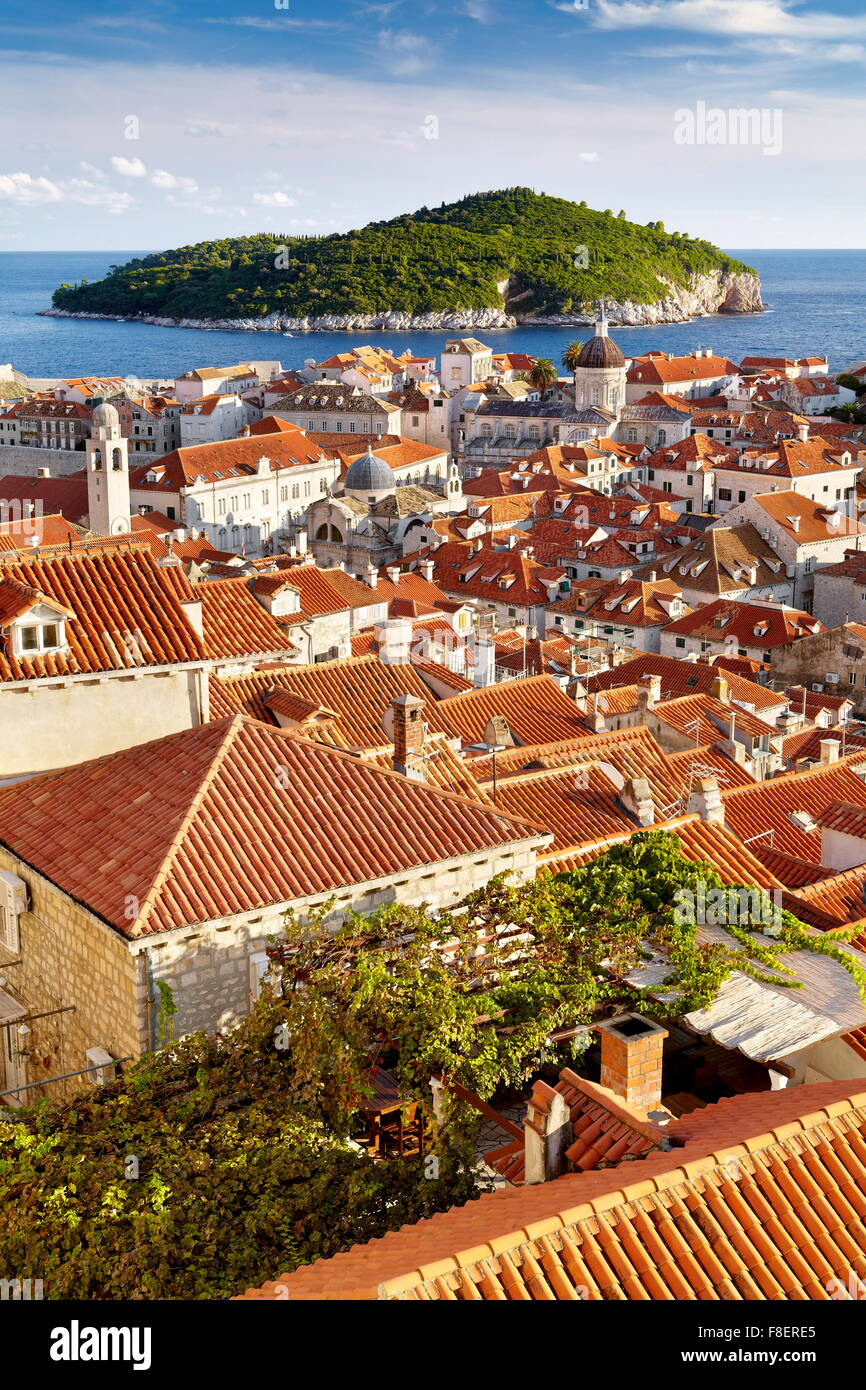Dubrovnik Old Town, Croatia Stock Photo