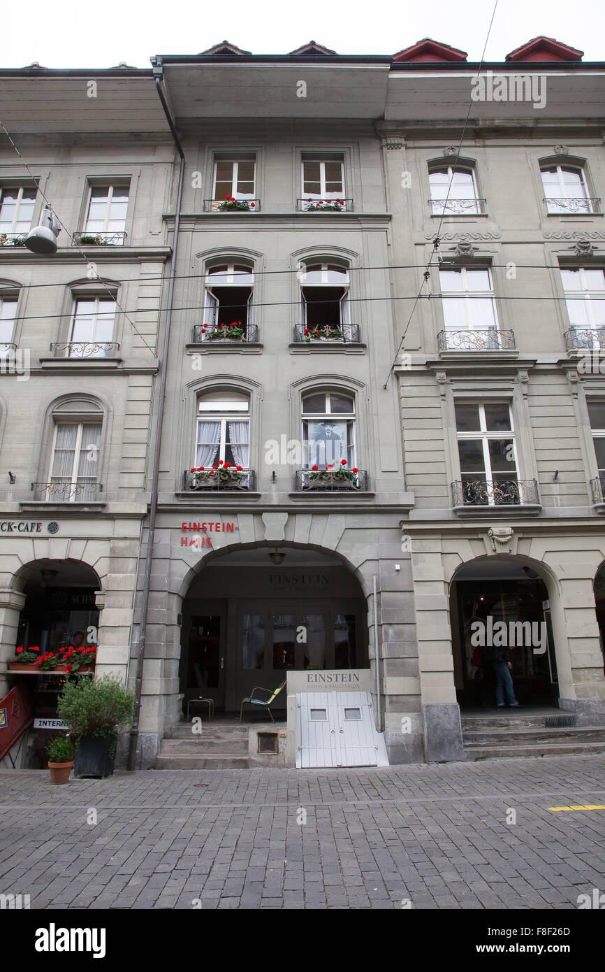 Einsteinhaus (Einstein House) by Kramgasse, Bern, Switzerland Stock ...