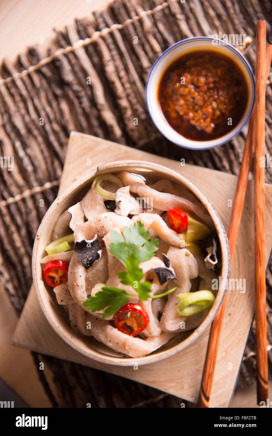 Noodle Udon Stock Photo