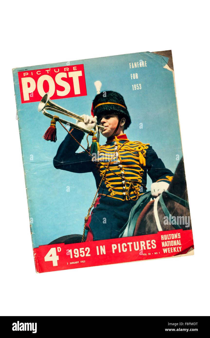 A copy of Picture Post from January 1953. - Stock Image