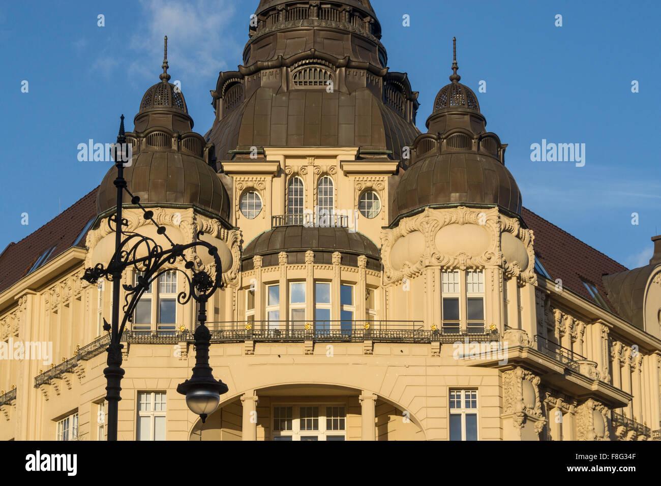 Kurfurstendamm, Luxery Building, City West, Berlin - Stock Image