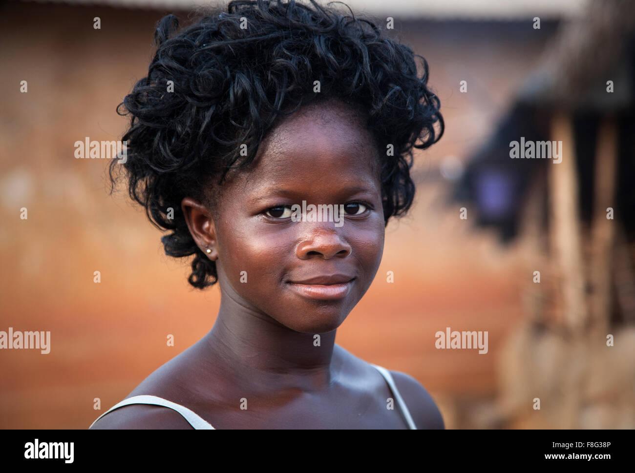 Douraghio, Ivory Coast. Africa - Stock Image