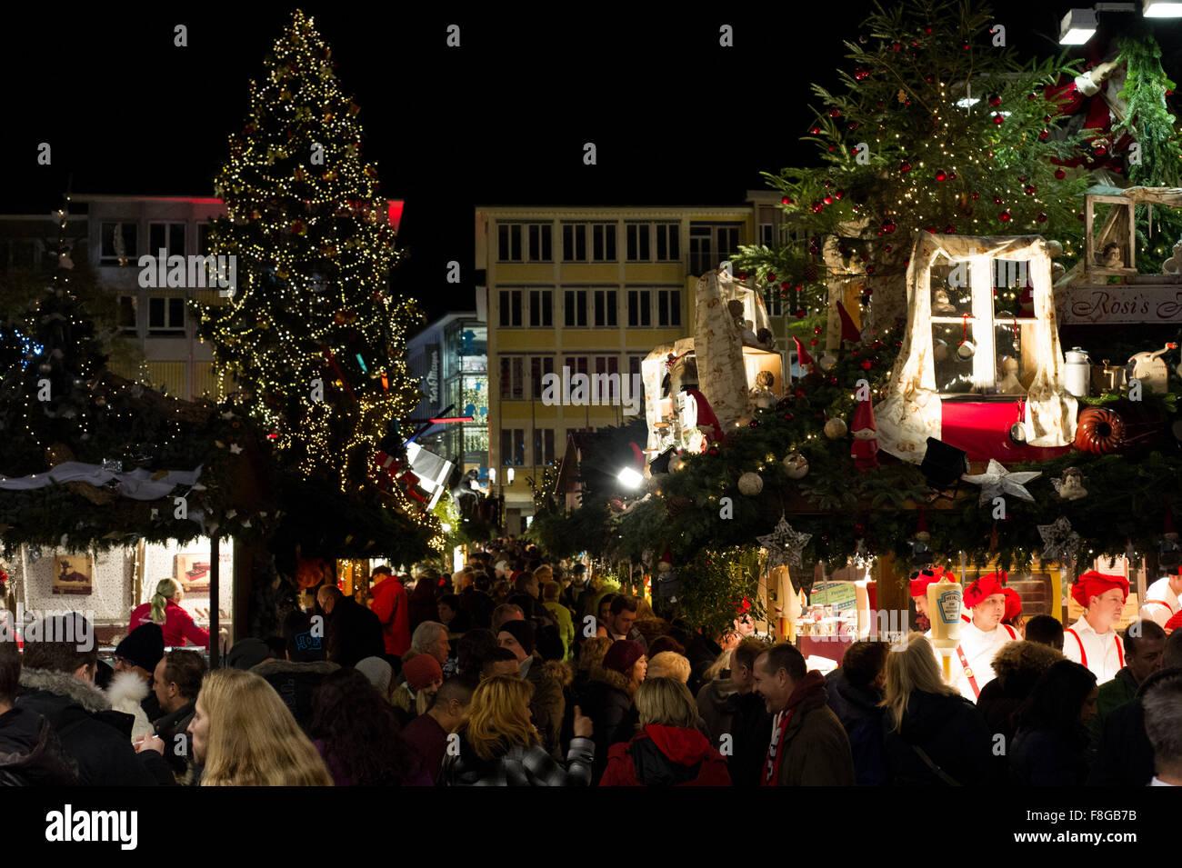 Christmas In Stuttgart Germany.Christmas Market In Stuttgart Germany One Of Europe S