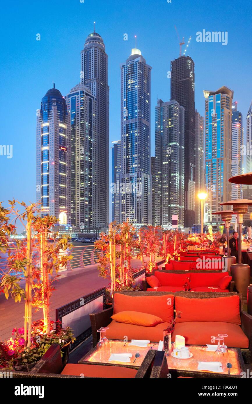 Dubai - Marina, United Arab Emirates - Stock Image