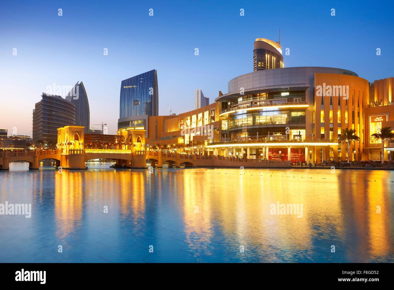 Dubai city - Dubai Mall, United Arab Emirates - Stock Image
