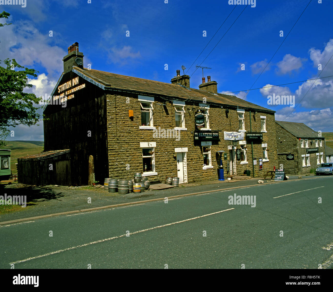 The Station Inn Ribblehead North Yorkshire - Stock Image