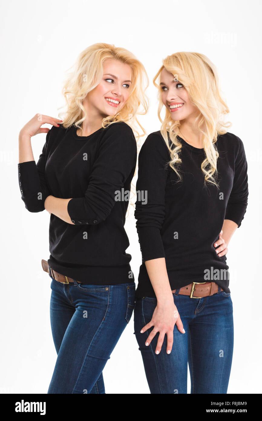 Adult Local models twins