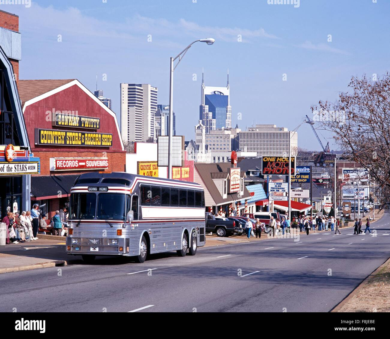 Music Row Nashville High Resolution Stock Photography And Images Alamy