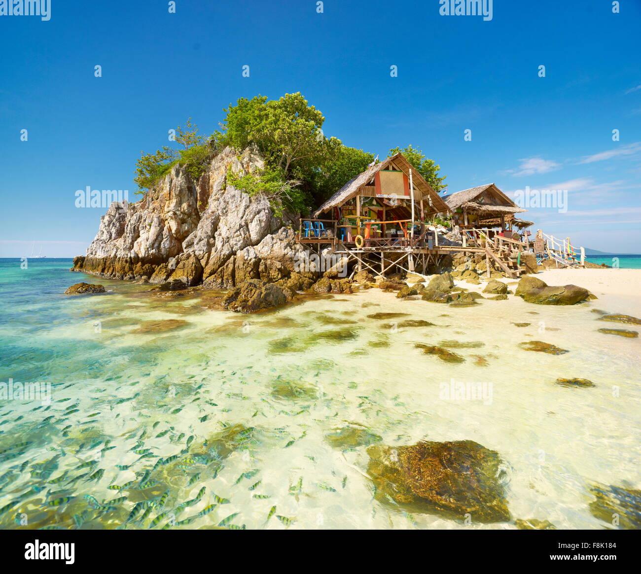 Thailand - Phang Nga Bay, Khai Island, Andaman Sea - Stock Image