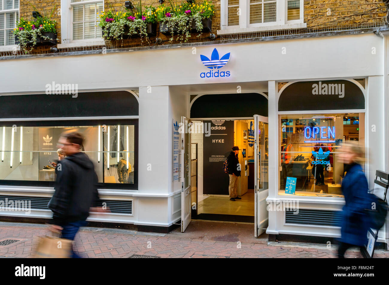 code promo c1749 8ddcc The shop front of Adidas Originals London store, just off ...