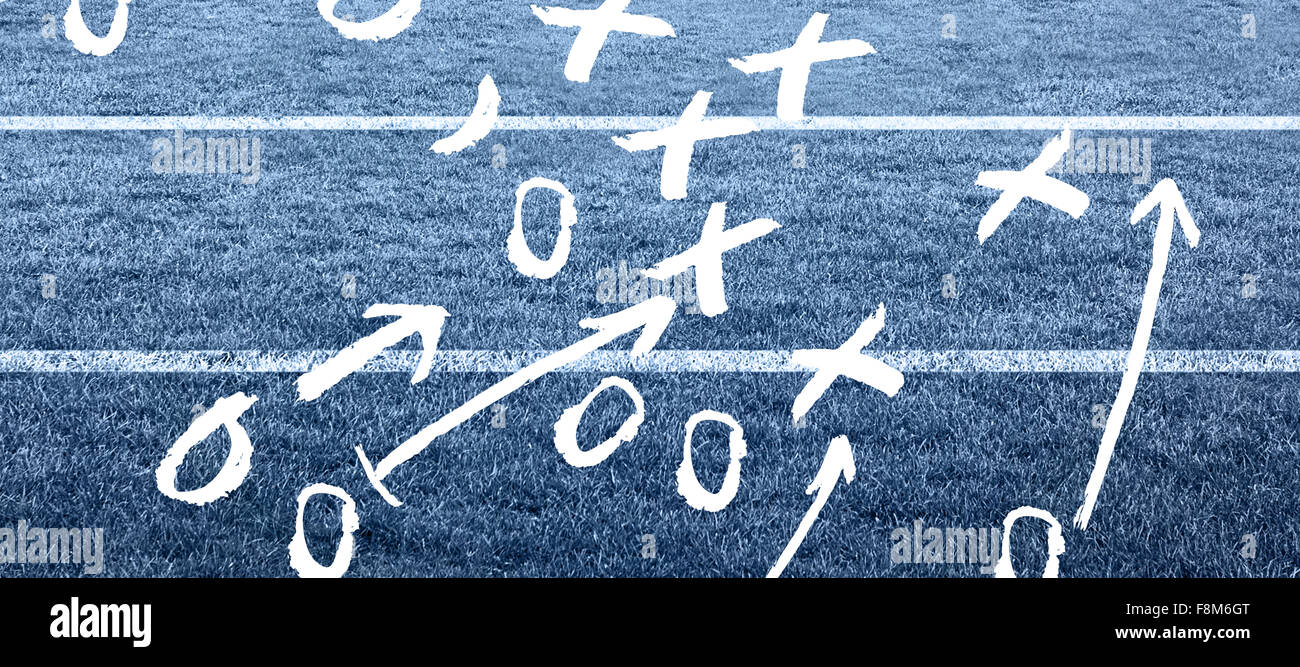 Composite image of tactics - Stock Image