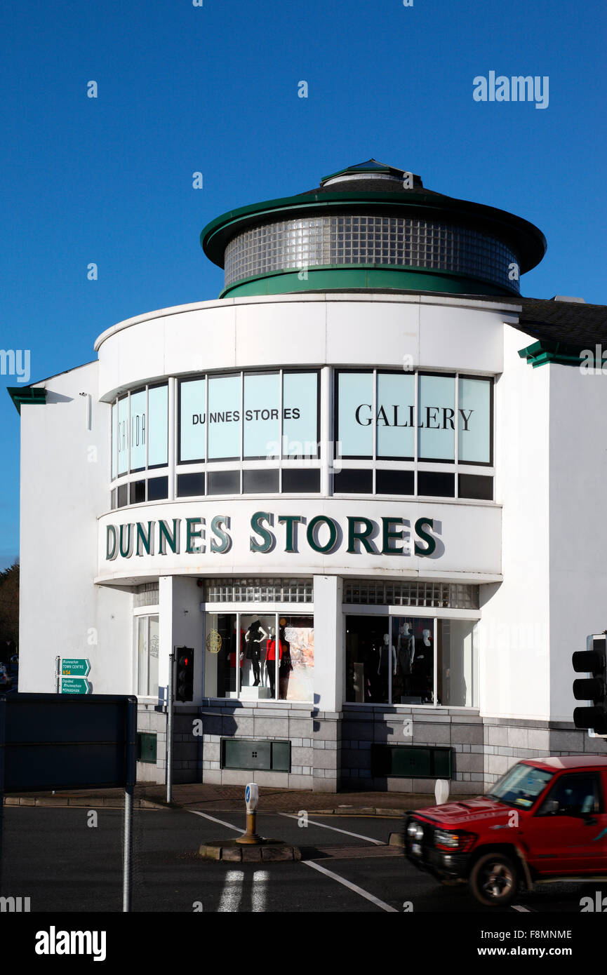 Dunnes Stores, Monaghan - Stock Image