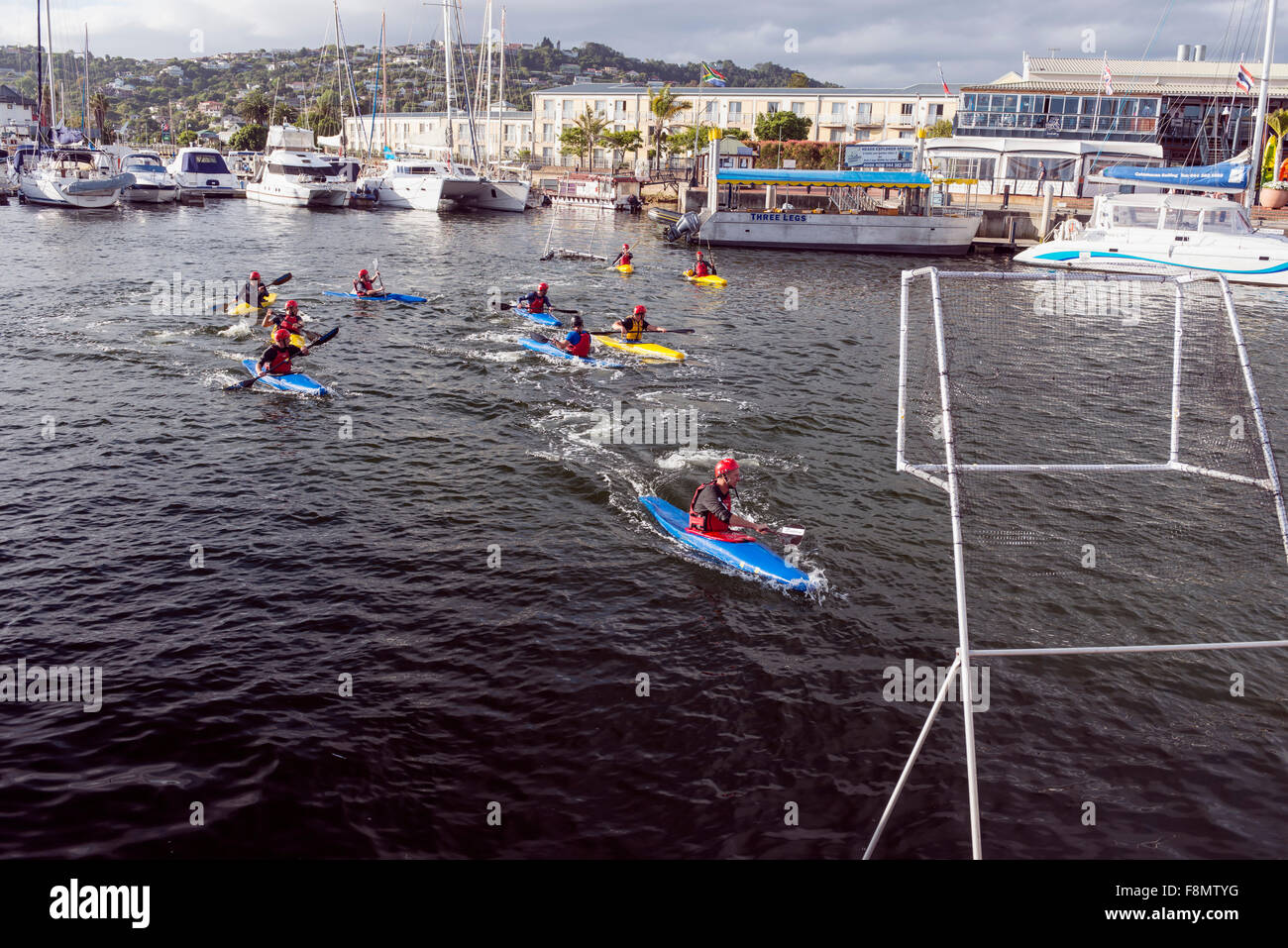 Canoe polo - Stock Image