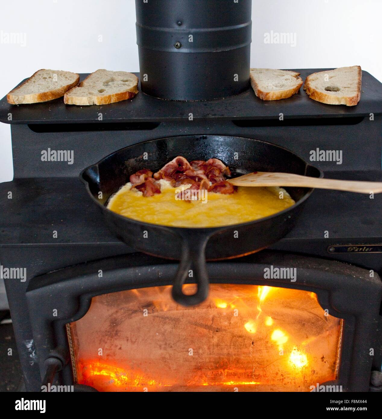 Did the eggs and bacon burn