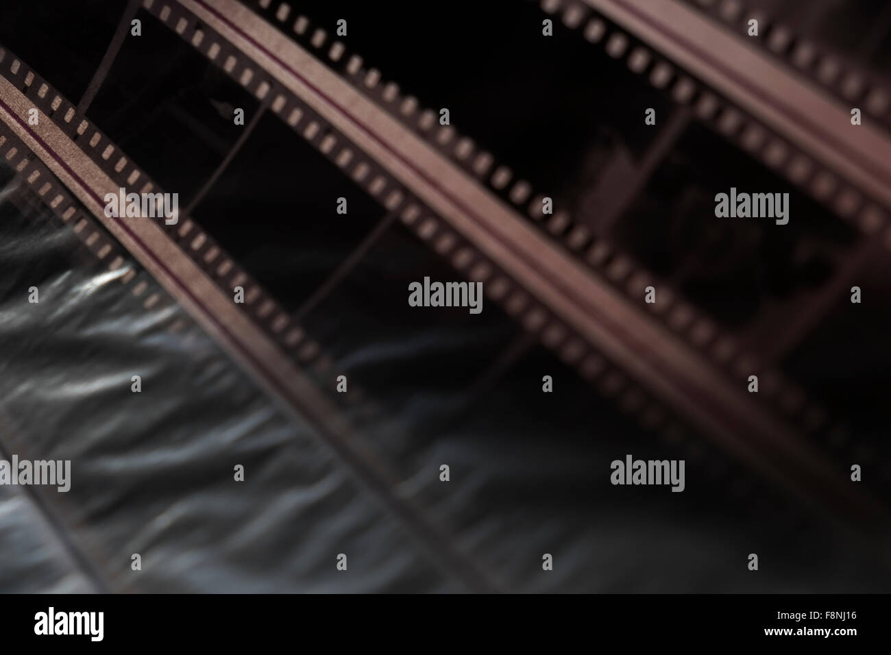 Archive of photographic negatives , analogue photography - Stock Image