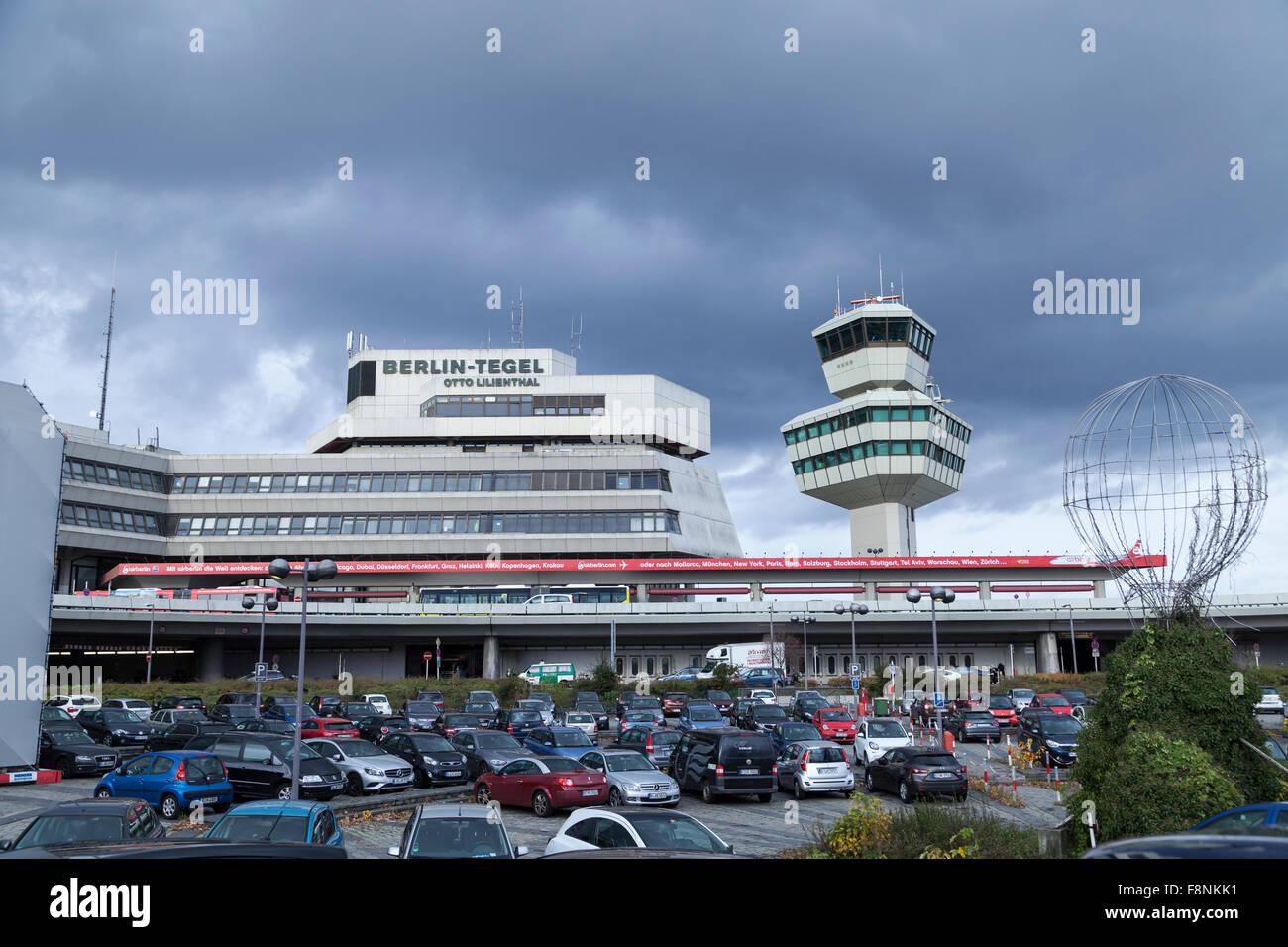 Flughafen Tegel in Berlin - Stock Image