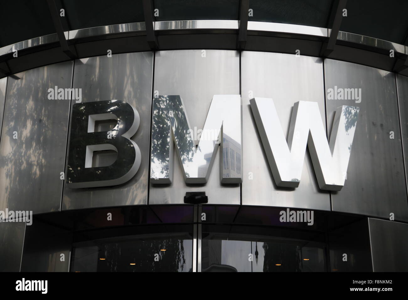 BMW Firmenlogo - Stock Image