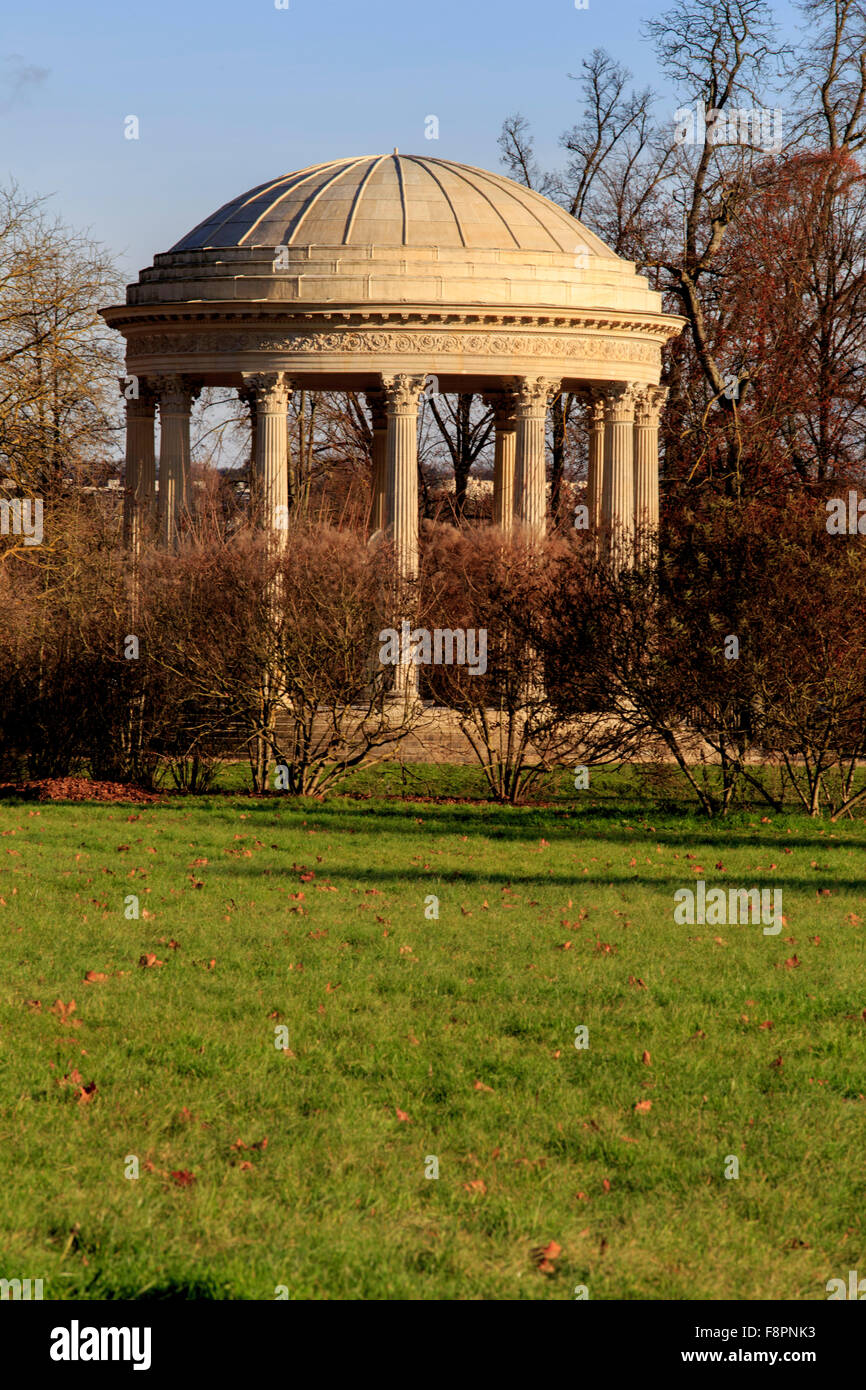 The Temple of Love in the English Garden of the Petit Trianon at ...