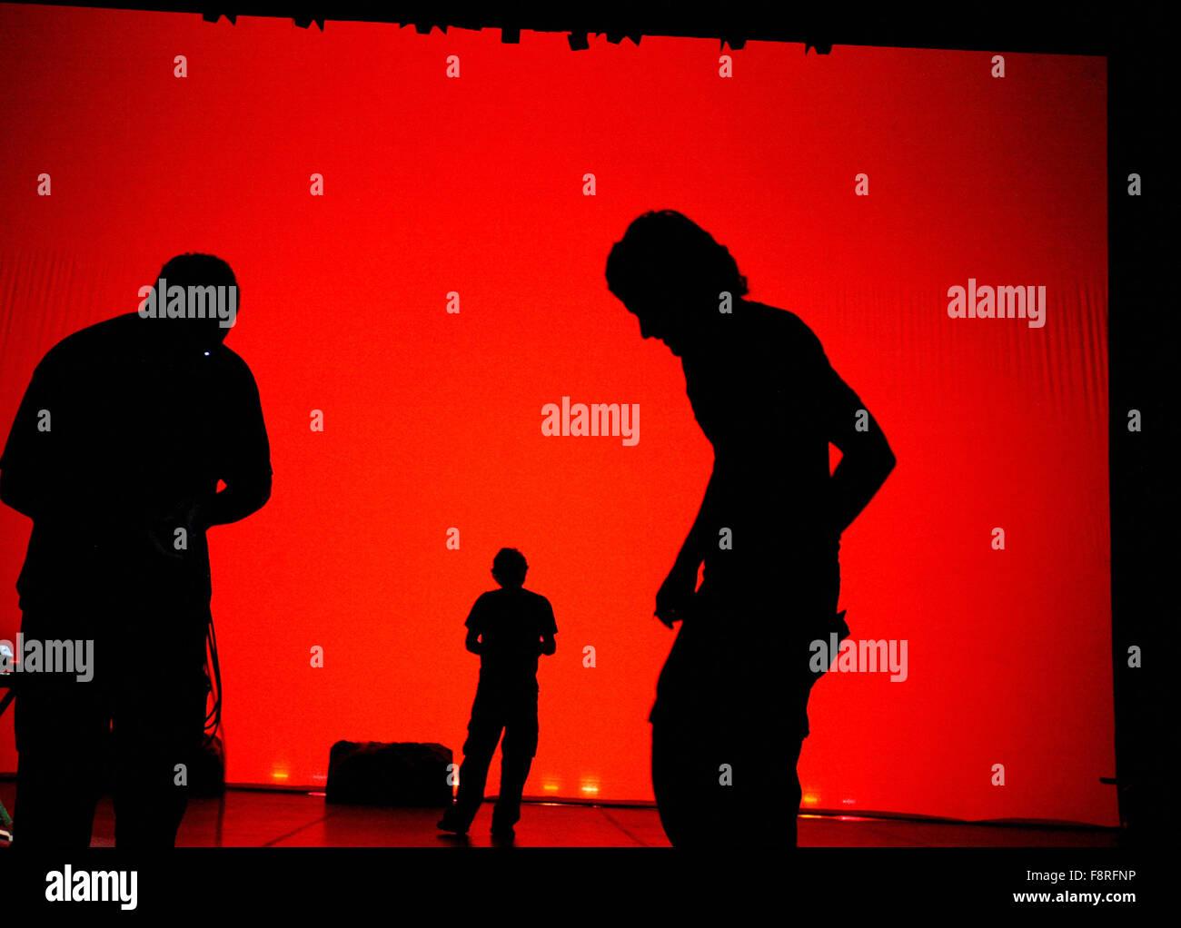 Silhouettes © Miguel Gomez - Stock Image