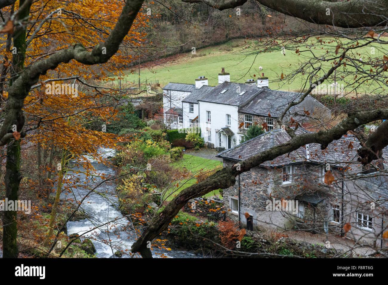 Force Mills Cumbria - Stock Image