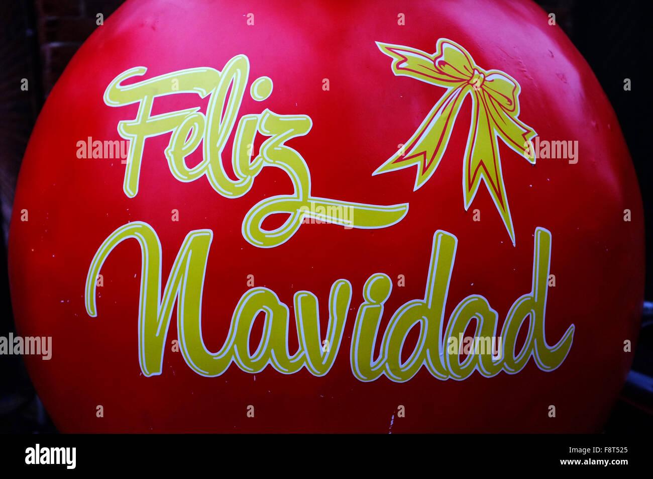 happy christmas in spanish stock photos happy christmas in spanish