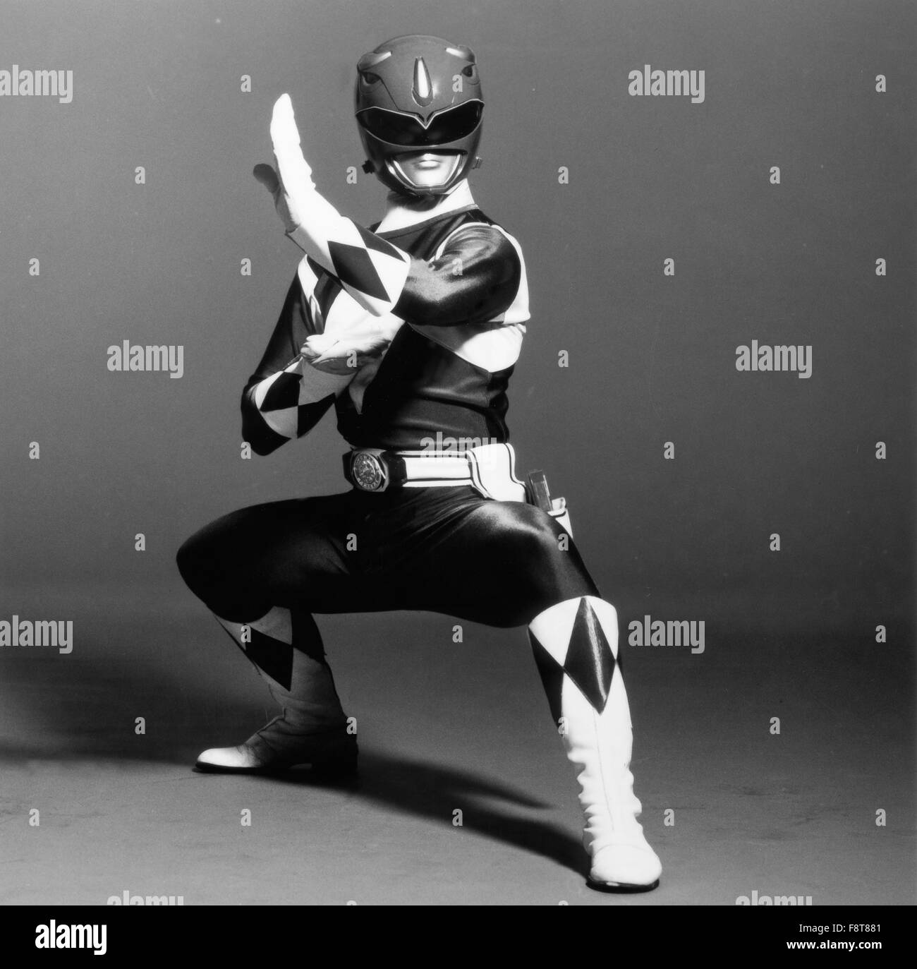 Mighty Morphin Power Rangers, Actionserie, USA 1993-1996, Darsteller: Jason Frank, Steve Cardenas, Karan Ashley, - Stock Image
