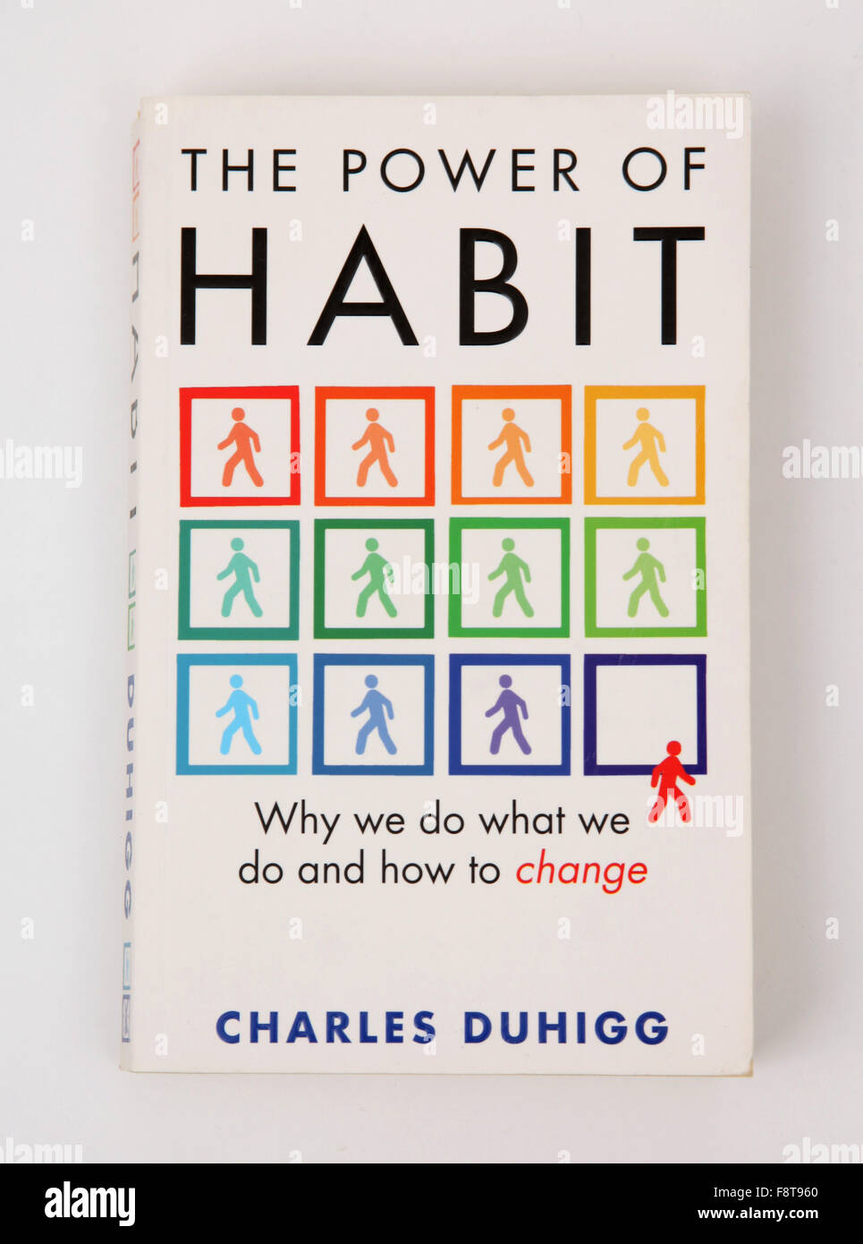 The book - The Power of Habit by Charles Duhigg - Stock Image